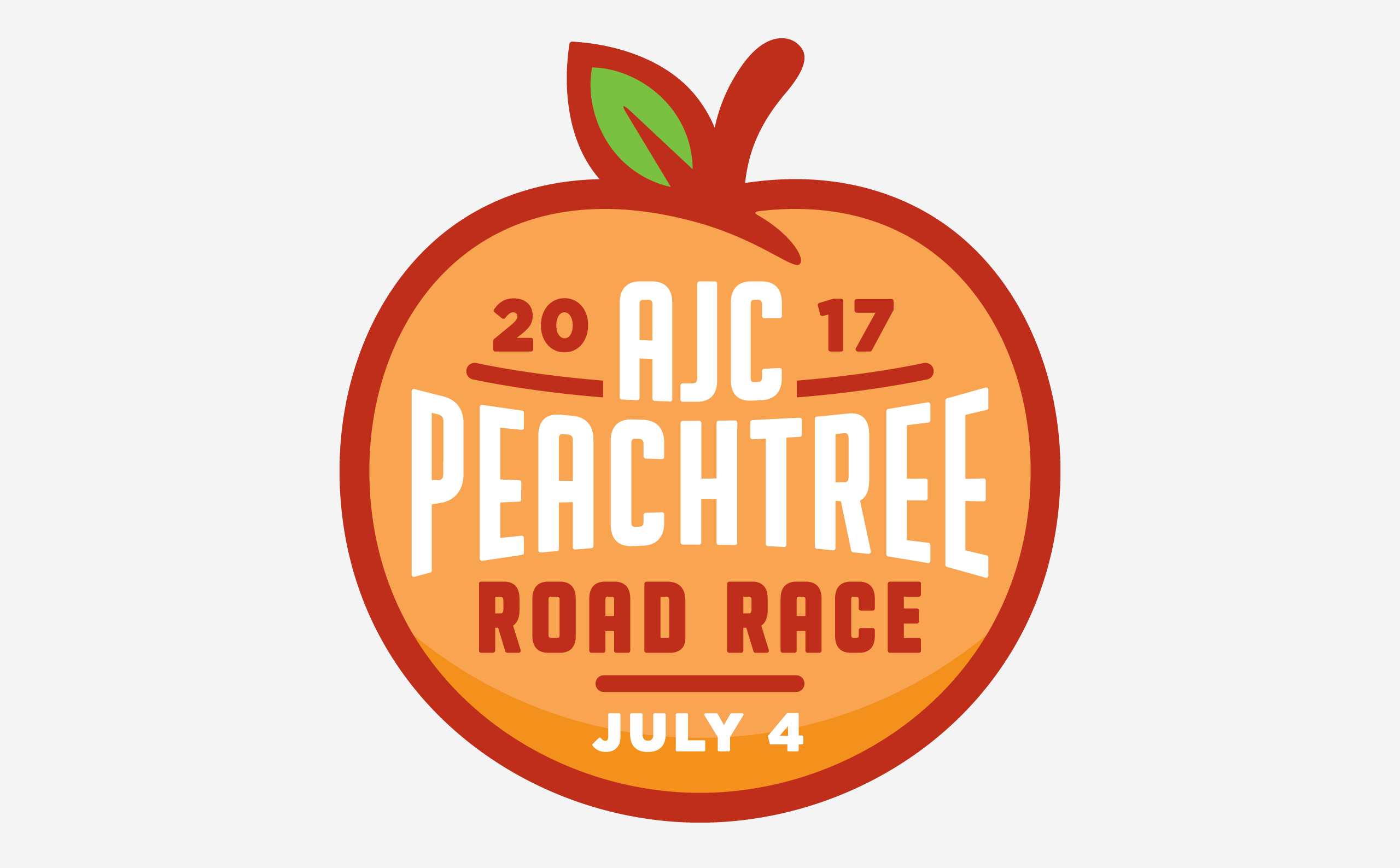 Peachtree Road Race Shirt Design – Mullinax Co